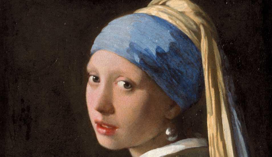 Kunst Berühmtes Vermeer Kunstwerk Im Body Scan Forschung Lehre